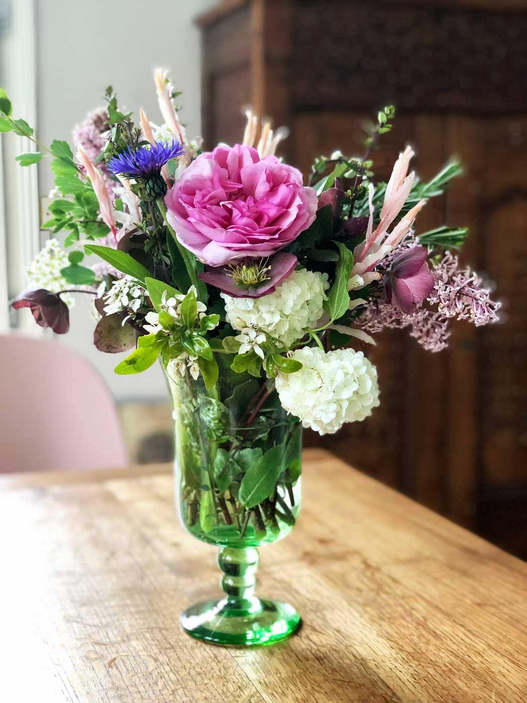 bouquet printemps art floral jardin