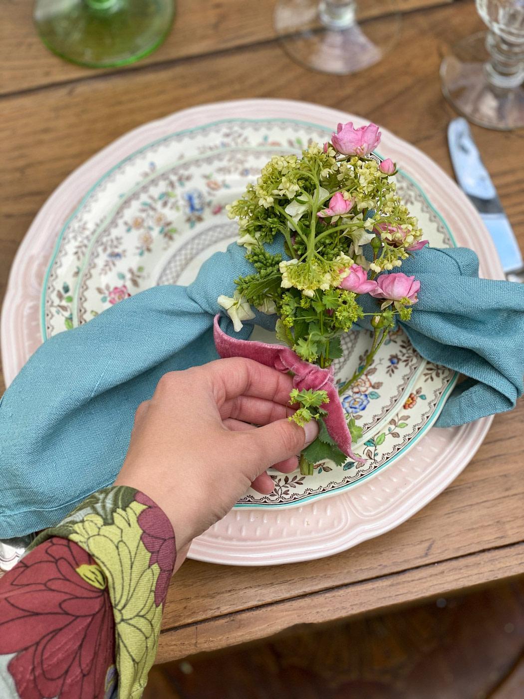 table-champetre-art-de-la-table-campagne-serviettes