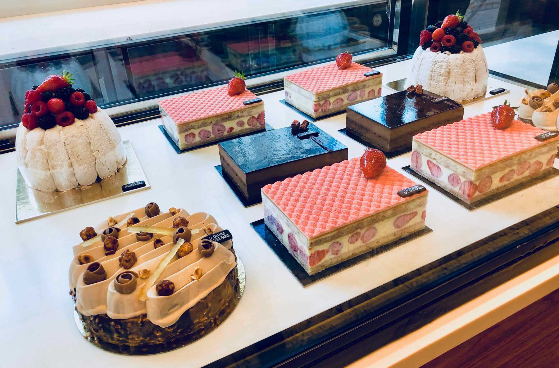 French pastries, patisserie, gourmet, la grande Epicerie de Paris