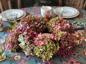 tutoriel-fabriquer-beau-centre-table-art-floral-hortensias